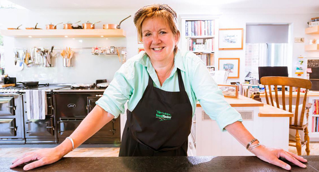 Sue Nelson, Yorkshire Food Finder's Flat Cap Cook